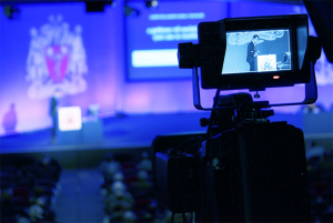 conference filming